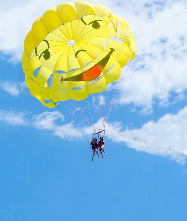 Glisse Evasion parachute ascensionnel Villefranche Sur Mer