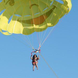 Glisse Evasion parachute ascensionnel Villefranche Sur Mer Côte d'Azur