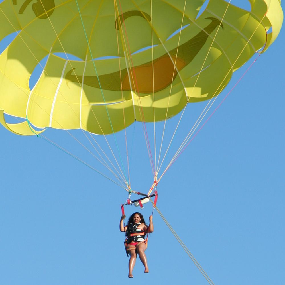 parachute ascensionnel Nice Promenades des anglais Base nautique