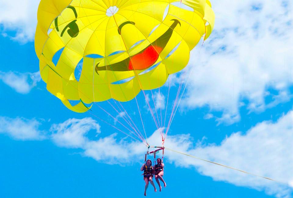 parachute ascensionnel Villefranche sur mer st jean Base nautique